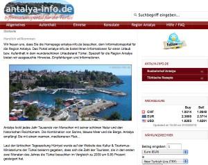 Antalya-Info