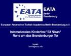 <b>EATA - Europ. Vereinigung Türk. Akadem.</b>