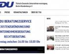 <b>Türkisch-Deutsche Unternehmervereinigung Berlin-Brandenburg e.V.</b>